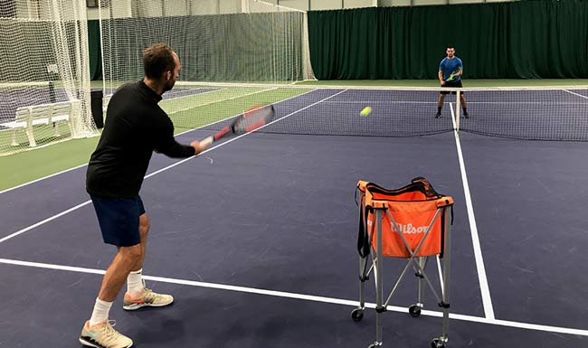 Adult Tennis at the Shrewsbury Club