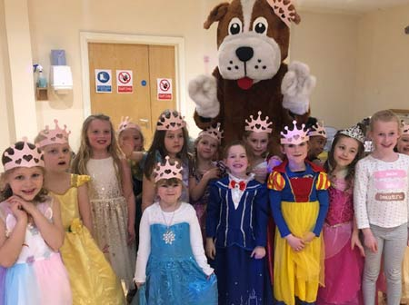 birthday parties for kids at The Shrewsbury Club