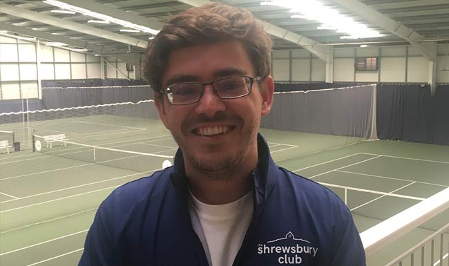 Meet the tennis coaches at the Shrewsbury Club