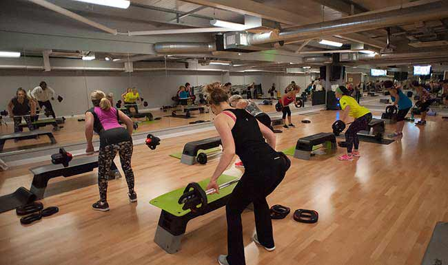 Classes at the Shrewsbury Club
