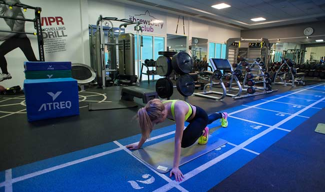 Fitness at the Shrewsbury Club