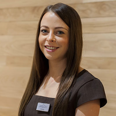 Katie Morris  – Spa Manager