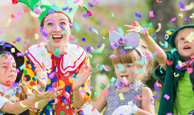 Childrens Parties at the Shrewsbury Club