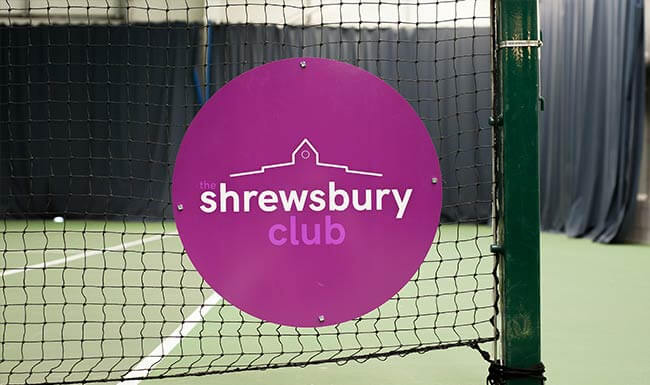 Tennis at the Shrewsbury Club