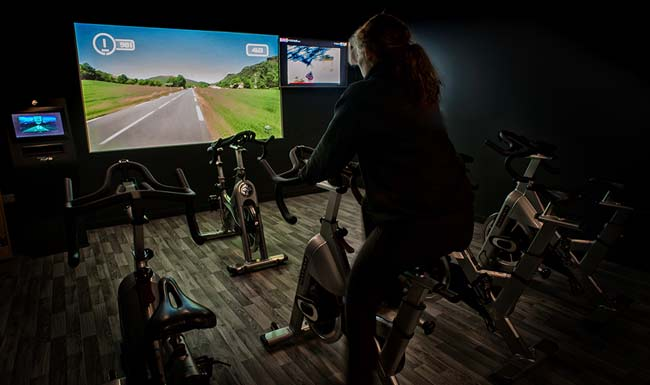 Virtual Exercise at the Shrewsbury Club