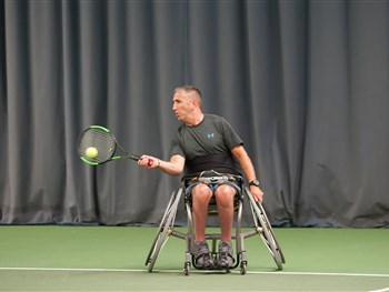 Shrewsbury Summer Open once again proves a big hit with wheelchair tennis players