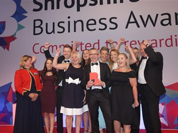 The Shrewsbury Club among the winners at Shropshire Chamber Business Awards