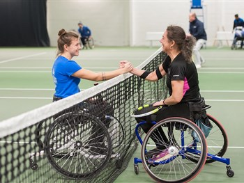 National Wheelchair Tennis Championships return to The Shrewsbury Club this week