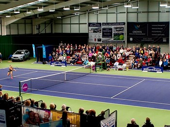 British tennis star Laura Robson set to return to action here at The Shrewsbury Club...