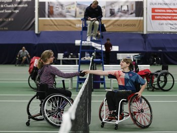 The Shrewsbury Club looking forward to hosting the LTA's National Wheelchair Tennis ...