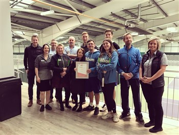 The Shrewsbury Club delighted to be named Shropshire tennis club of the year in LTA ...