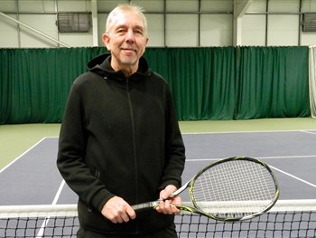 Club member Rob's delight at being selected to represent Wales at top tennis tournament